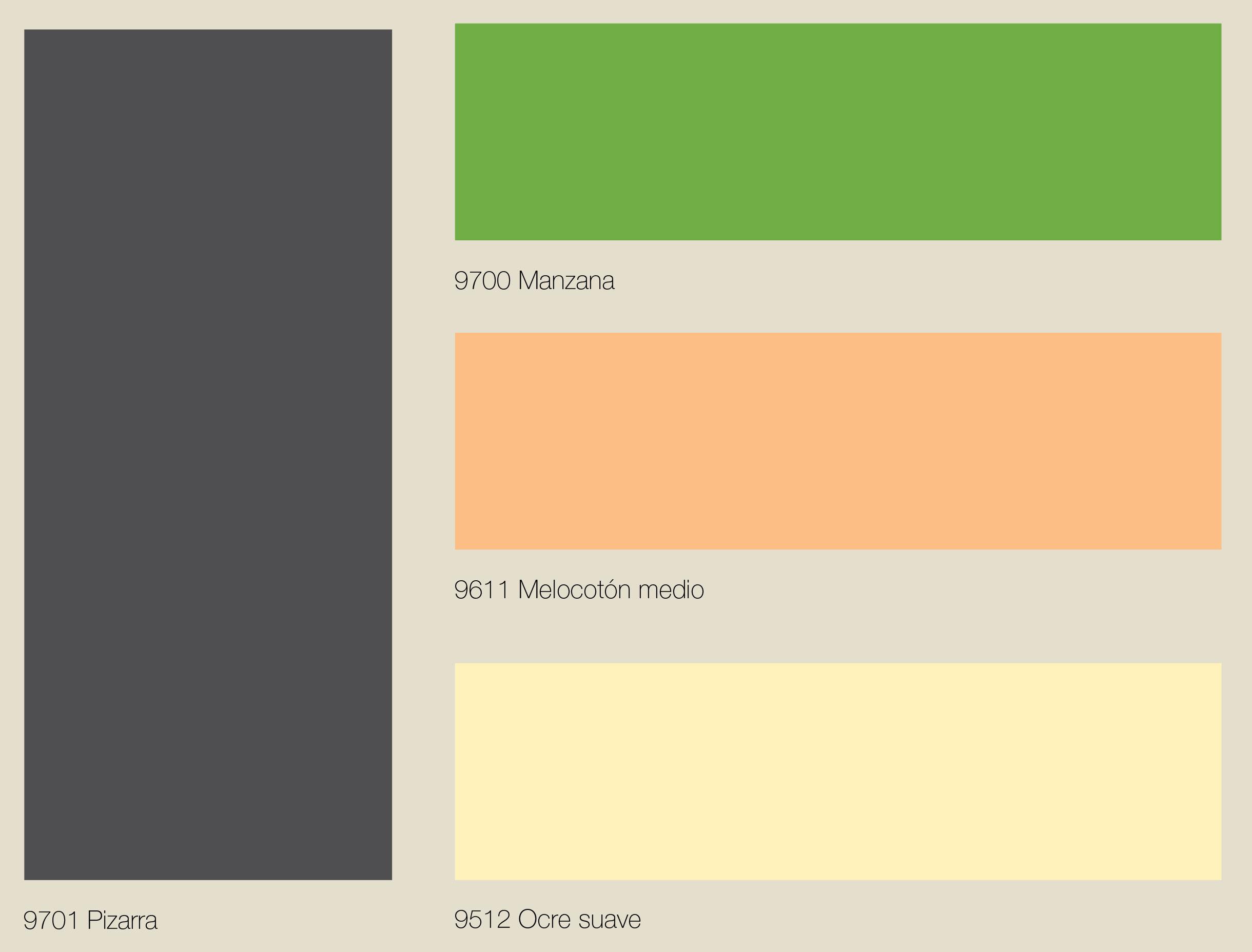 La psicolog a del color el verde manzana blog pyma - Color y pintura ...