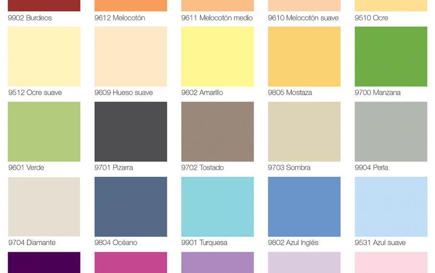 Consejos para pintar en casa en 8 sencillos pasos - Gama de colores para pintar paredes ...