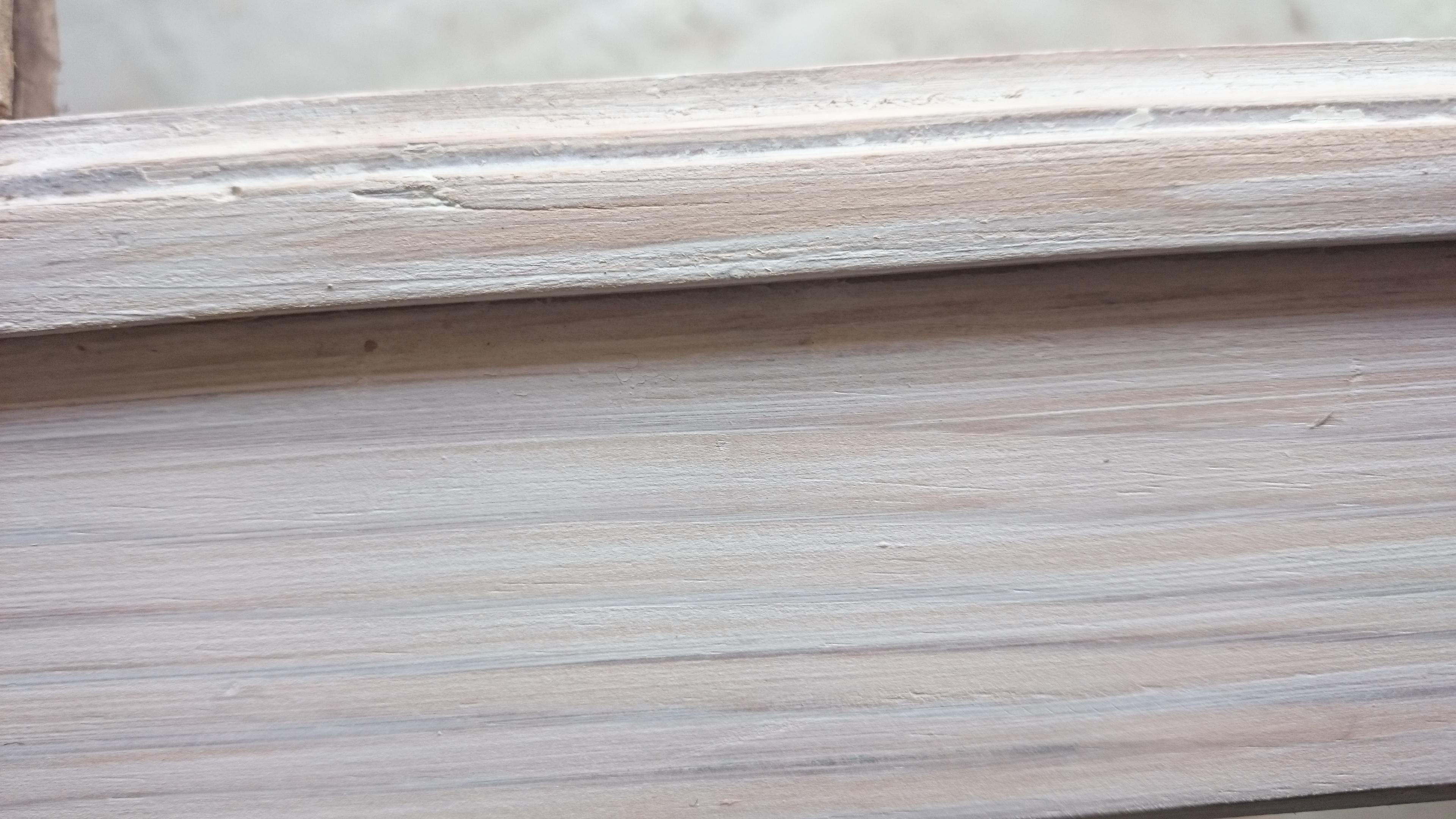 Restaurar un espejo antiguo con deco lasur de xylazel - Pintar madera blanco ...