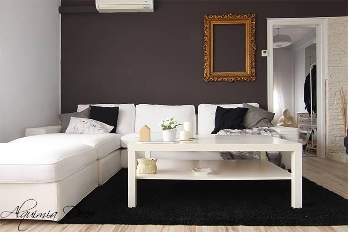 Decora tu hogar en tonos gris pizarra for Pintura gris para interiores