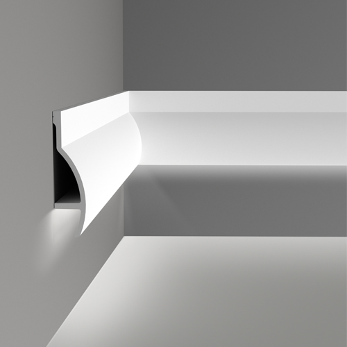 C mo conseguir un elegante dise o de luz indirecta - Iluminacion indirecta led ...