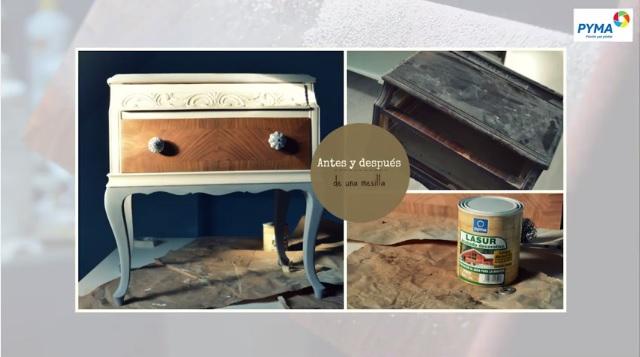 Restauración muebles Lasur PYMA