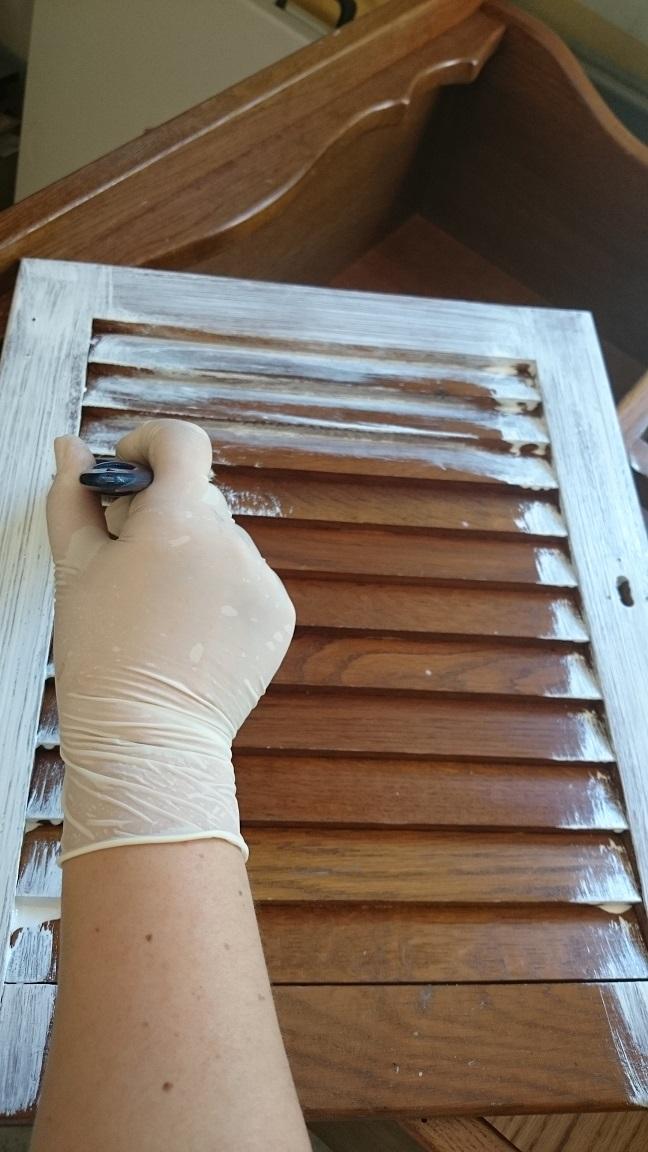 Diy pintar con esmalte un mueble de madera sin lijar - Pintar sobre madera barnizada ...