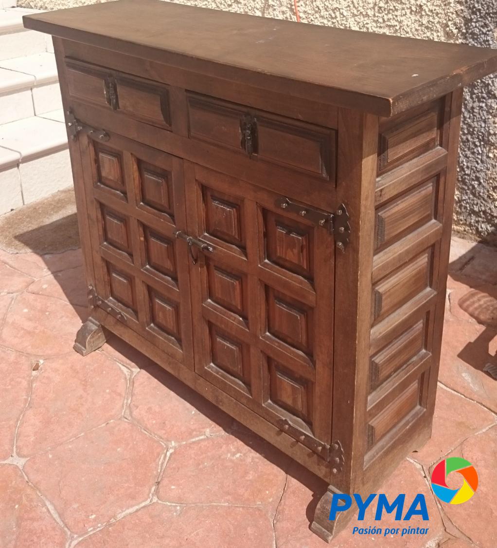 Diy restaurando un mueble de madera antiguo Como envejecer un mueble