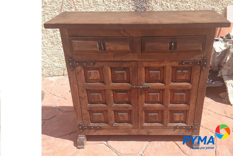 Diy restaurando un mueble de madera antiguo - Muebles castellanos antiguos ...