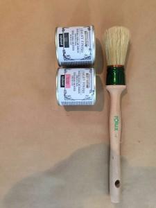 Imagen realizada por la bloguera Petite Candela con pintura a la tiza