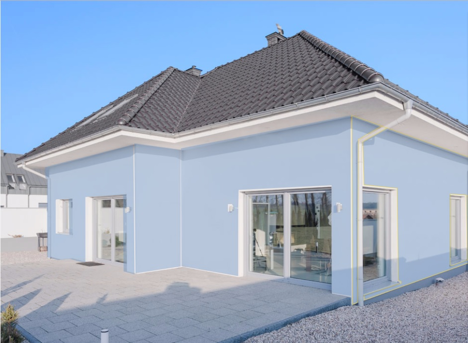 color azul para pintar las paredes de casa by decoracin