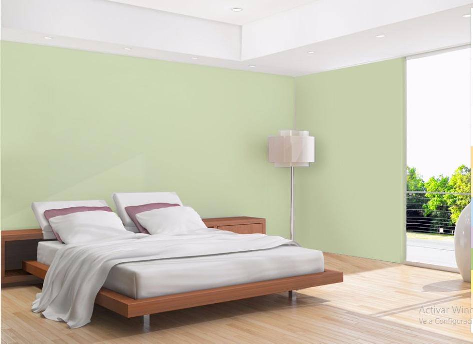 habitacion perla habitacion verde - Pintar Habitacion