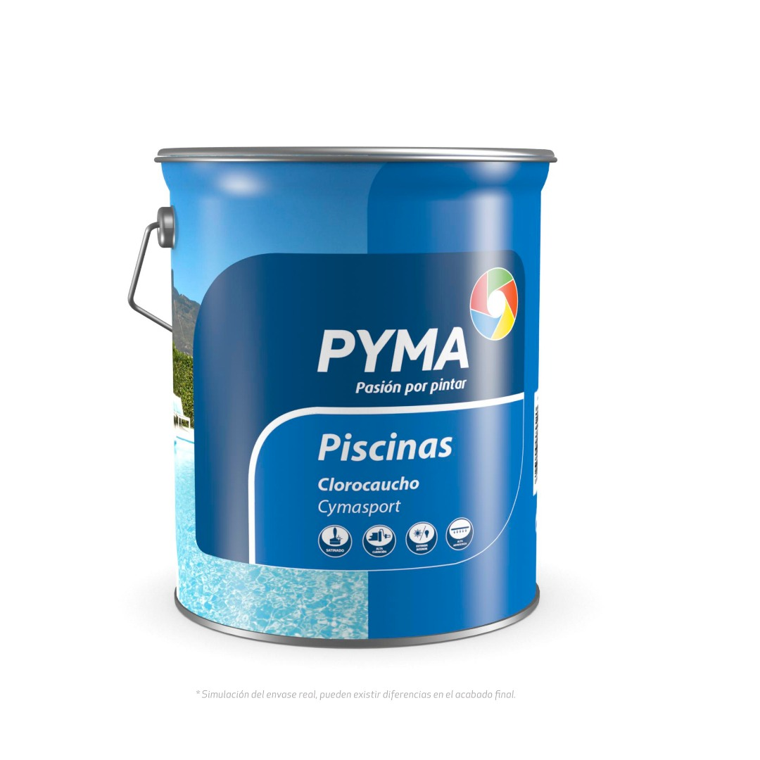 pintura piscinas clorocaucho grupo pyma