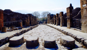 peatones romanos